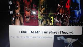 FNaF Death Timeline (Theory) The 2nd