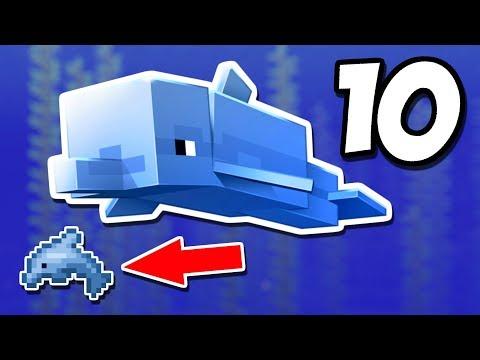 10 ФАКТОВ О ДЕЛЬФИНАХ В МАЙНКРАФТЕ | Minecraft ФАКТЫ