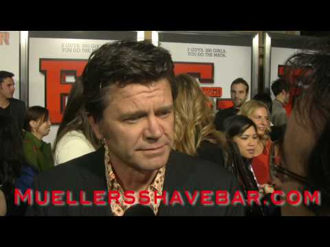 John Michael Higgins at the Fired Up! Premier Video