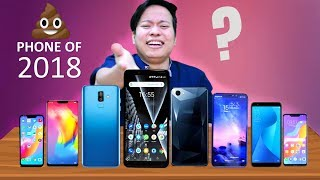 Most Disappointing & Flop Smartphones of 2018 😂😂