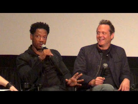DRAGGED ACROSS CONCRETE W/actors Vince Vaughn & Tory Kittles; Mod By Steve Weintraub