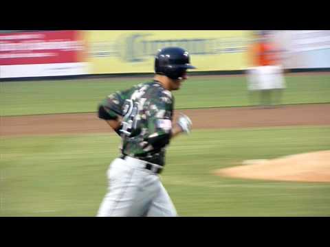 Lonnie Chisenhall 3B Akron Aeros age 20, home run (3)