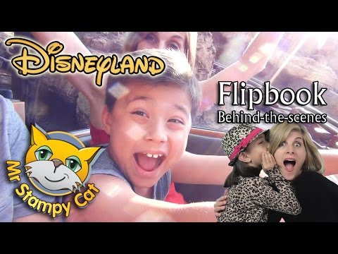 Stampy Surprises Evan, Disneyland & Flipbook Behind-the-scenes