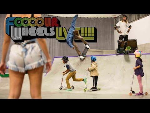 Boo Johnson vs Lizard King  |  FOOOOUR WHEELS LIVE!