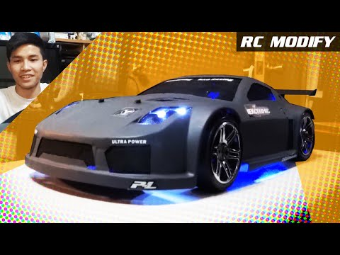 RC Modify 6 |  Nissan 350z 1/8 RC Bloody Mad Drift