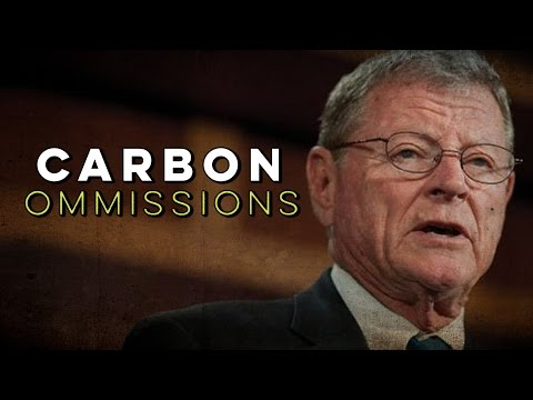 Senator James Inhofe Thinks Carbon Pollution Is A Good Thing
