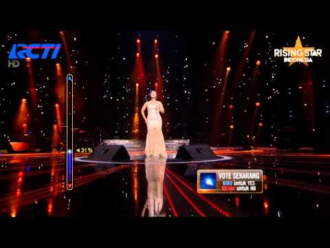 """Evony Arty """"The Way You Make Me Feel"""" Michael Jackson - Rising Star Indonesia Great 8 Eps 20"""