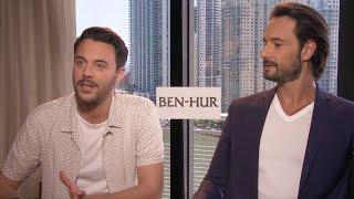 Ben-Hur Crucifixion Scene 'Intense' For Stars To Film