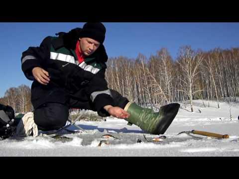 видео подледной рыбалки 2016