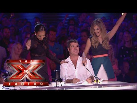Cheryl and Mel do a little dancing | Arena Auditions Wk 1 | The X Factor UK 2014
