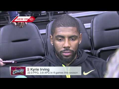 Kyrie Irving Interview at Shootaround vs Denver Nuggets - 2014-15 NBA Season