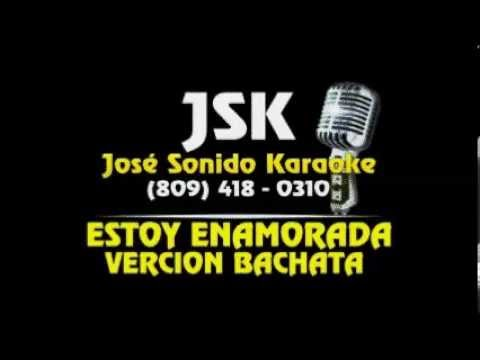 Estoy Enamorada Bachata Karaoke video