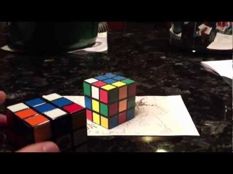 Solving the Rubik's cube a new way