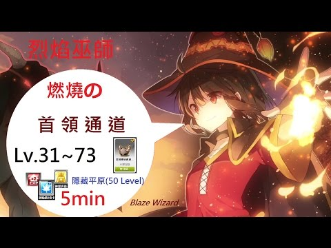 TMS 新楓之谷 燃燒 烈焰巫師Blaze Wizard VS.首領通道:隱藏平原(50 Level) 플레임 위자드 (Flame Wizard),フレイムウィザード