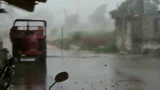 Cyclone Vayu hit in Gujarat