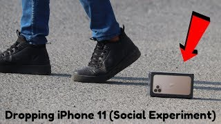 Dropping iPhone 11 (Social Experiment) in Pakistan