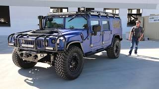 H1 Alpha Hummer with the NEW Full Size 6 passenger seating