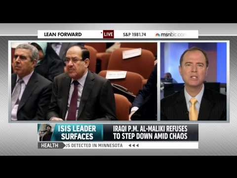 Rep. Schiff on MSNBC: Al-Maliki Needs to Step Down in Iraq