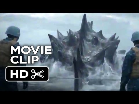 Godzilla International Movie CLIP - Out Of The Water (2014) - Bryan Cranston Movie HD