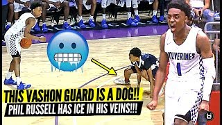 VASHON'S PG CAN SHOOT THE LIGHTS OUT! PHIL RUSSELL SEASON HIGHLIGHTS!