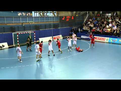 Gbr Vs Aut Highlights - Handball Wc Qualifier 8th Jan 2012 video