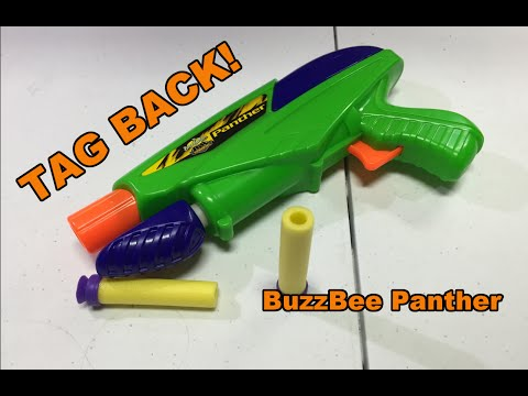TAG BACK! - BuzzBee Panther (The most powerful of pistols)
