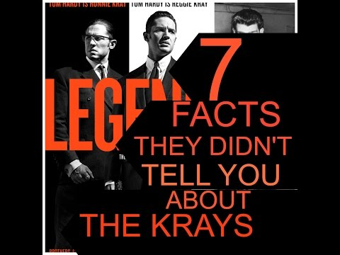 7 Facts about the Kray twins they didn't tell you in Legend the movie staring Tom Hardy