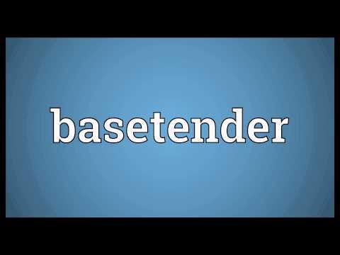 Header of basetender