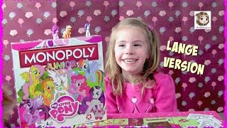 MONOPOLY JUNIOR ★ My Little Pony Edition - Lange Spielversion | Hasbro Gaming