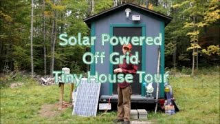 TINY HOUSE OFF GRID TOUR