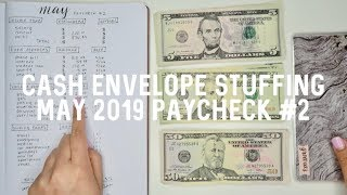 BUDGET W/ ME: Cash Envelope Stuffing May 2019 - Part 2 | Jerlyn Phan