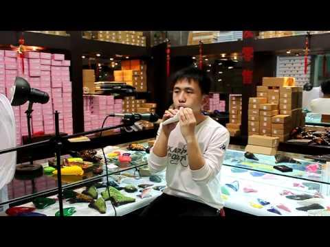 天之音ocarina(普及型12孔青花AC陶笛)-康定情歌 純野静流 検索動画 6