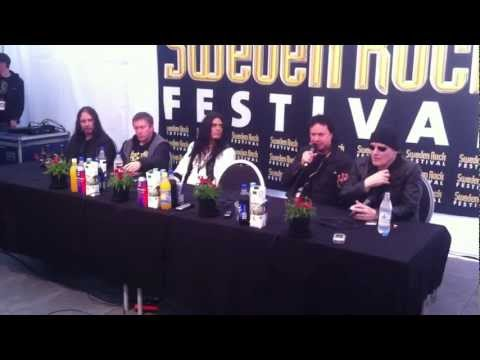 King Diamond - SwedenRock Press Conference June 8, 2012