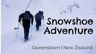 Snow Shoeing adventure Queenstown New Zealand