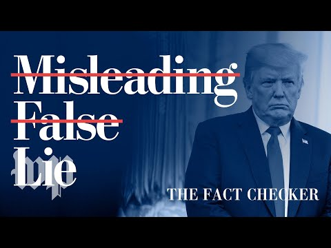 Not just misleading. Not merely false. A lie.   Fact Checker