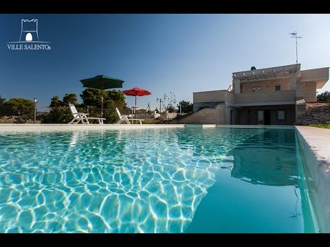 Villa with pool near the beach in Puglia (Salento)