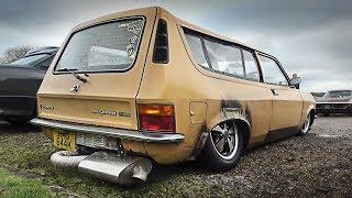 This FRANKENSTEIN Austin Allegro is the Ultimate Hot Rod!