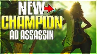 NEW CHAMPION REVEAL (AD Assassin) - Qiyana, Empress of the Elements - League of Legends