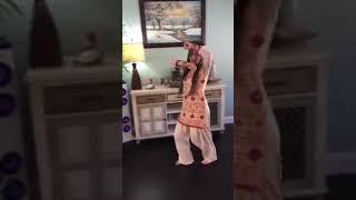 Beautiful girl dance