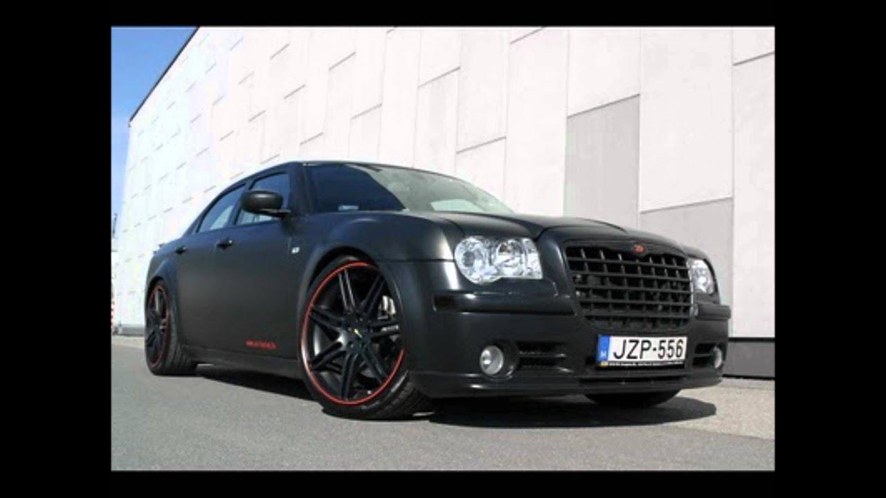 Matte Black Chrysler 300c Hemi Srt 8 Youtube