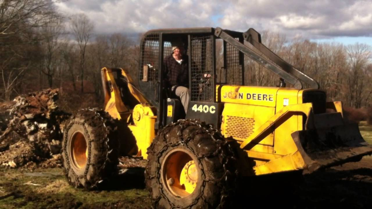 Logging Equipment For Sale >> 0 DEERE 440C For Sale - YouTube