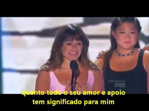 Discurso TCA 2013 - Lea Michele