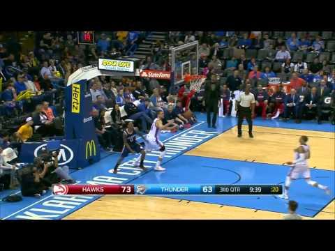 HD Atlanta Hawks vs Oklahoma City Thunder Full Highlights March 20