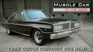 Muscle Car Of The Week Video Episode #135: 1966 Dodge Coronet 426 Hemi