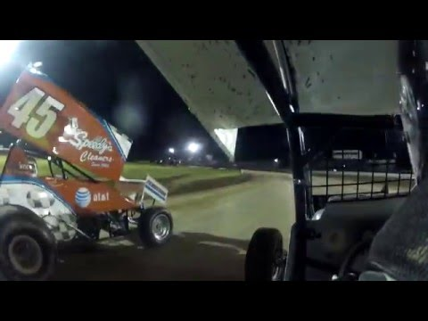 Canandaigua 305 Sprint Car Feature 6/9/12 Jake Muench (HD)