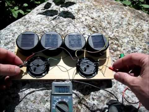 DIY Solar Garden Light Hack - Solar Battery Charger