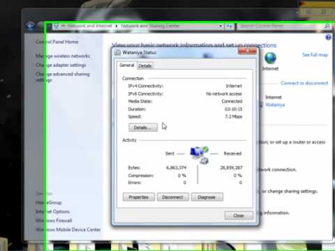 Tutorial - How to make your laptop as a wireless router.. Windows 7 and Vista