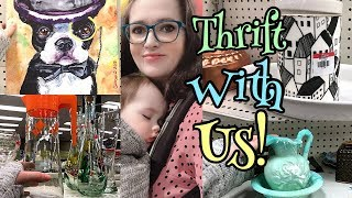 Thrifting At Goodwill | Thrift With Me | Interesting Finds Today! Reselling || Nesting Haven