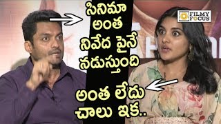 Kalyan Ram all Praises to Niveda Thomas || 118 Movie Team Interview