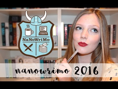 NANOWRIMO 2016! | The Book Belle